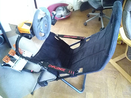Great E-racing seat on a budget