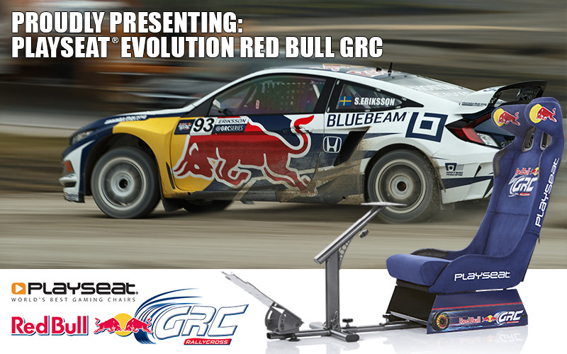 Proudly presenting: Playseat® Evolution Red Bull GRC