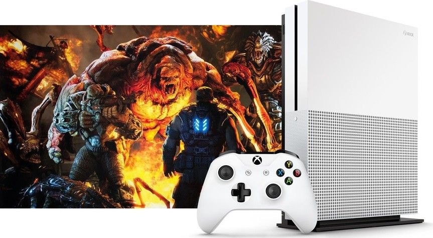 Xbox One S and new Gears of War