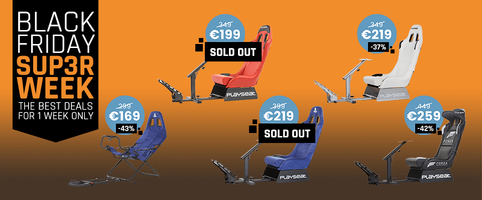 Playseat® Black Friday Deals